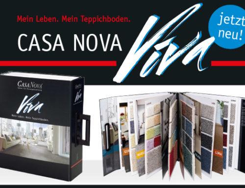 NEU – CasaNova Viva – Mein Leben. Mein Teppichboden.