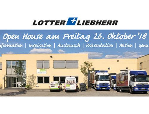 Open House am 26.10. bei L+L Essen