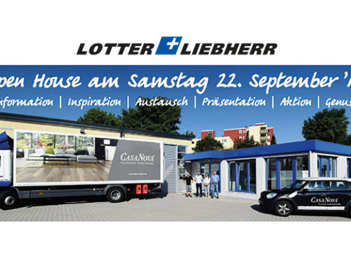 Open House am 22.09. bei L+L in Koblenz