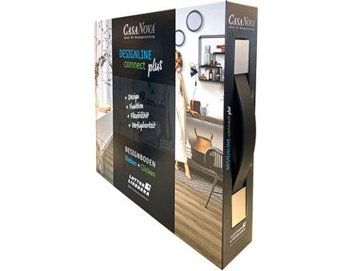 NEU: DESIGNLINE connect plus – Designboden Kleben & Clicken