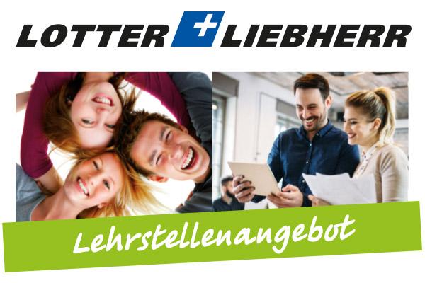 Lehrstellenangebot bei Lotter+Liebherr GmbH