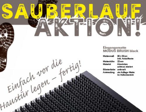 Sauberlauf-AKTION