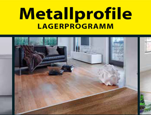 CASA NOVA Metallprofile – Lagersortiment erweitert!
